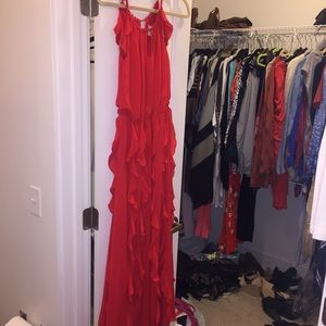 Moon River maxi red dress size S